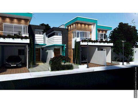 casas independientes y tipo townhouses en san isidro desde rd46