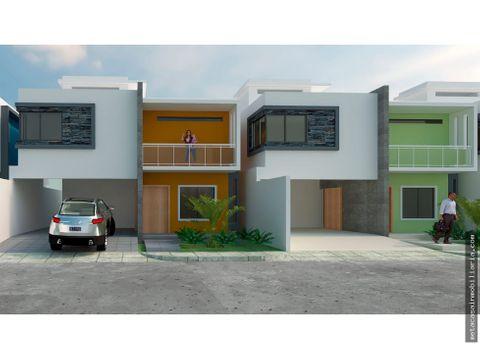 casas de 2 niveles en las americas entrega 2022