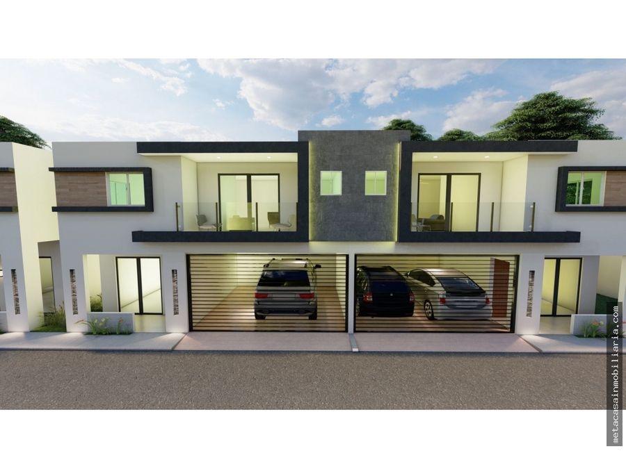 casas de 2 niveles residencial cerrado alma rosa 2da entrega 2022