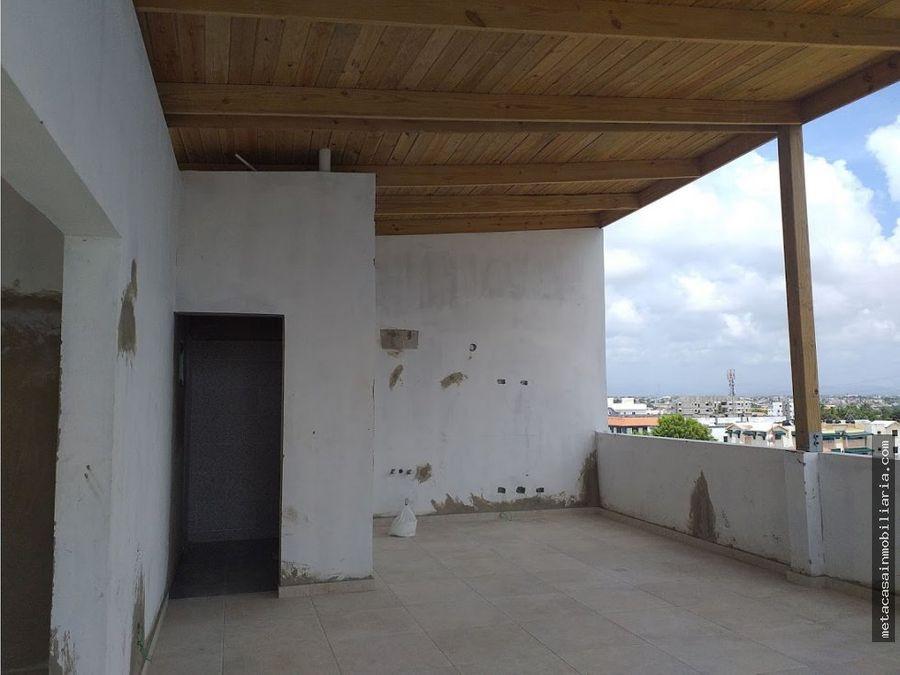 amplio penthouse en el ensanche ozama