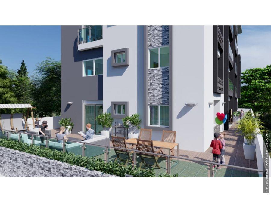 2da con terraza parqueos techados y ascensor ensanche ozama 2021