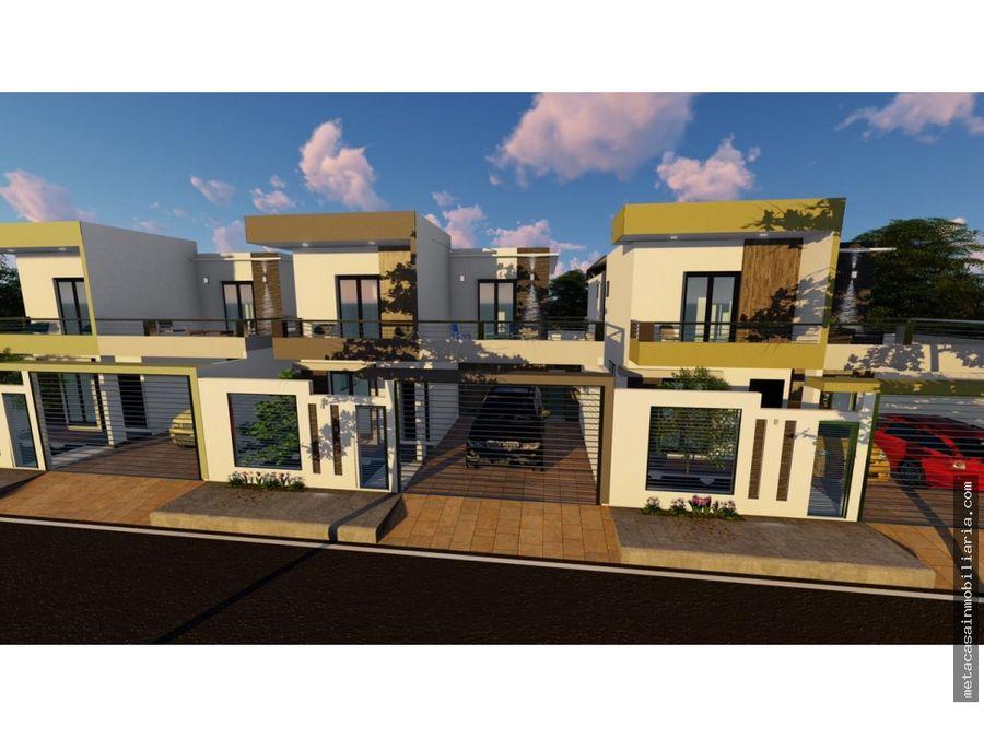 casas individuales en san isidro 236 y 239mts construccion