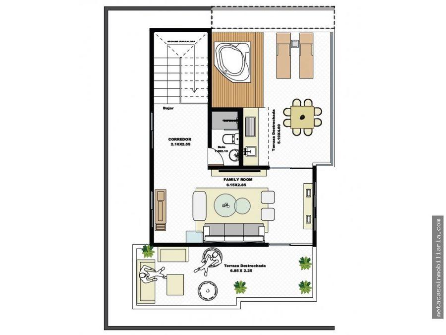 casas en proyecto cerrado de 3 niveles 198mts2 de construccion