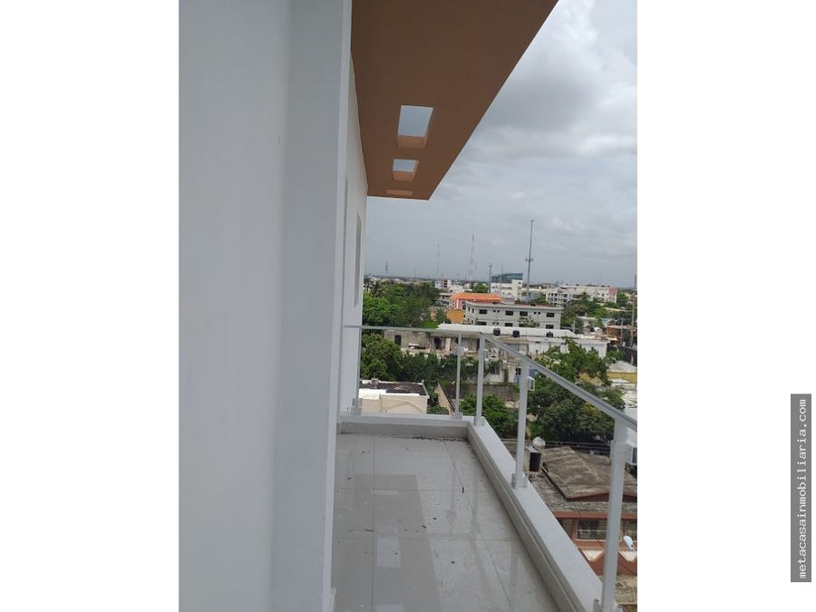 2do nivel 132mts 66mts terraza listo ensanche ozama