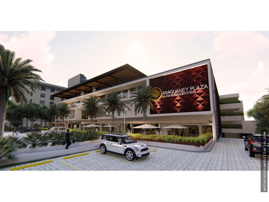 plaza comercial grande y moderna punto centrico autopista san isidro