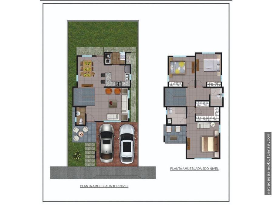 casa de 2 niveles en brisa oriental 4750