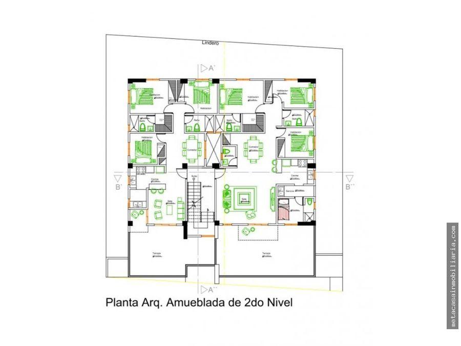 2da con terraza de 170mts y penthouse de hasta 200mts prado oriental