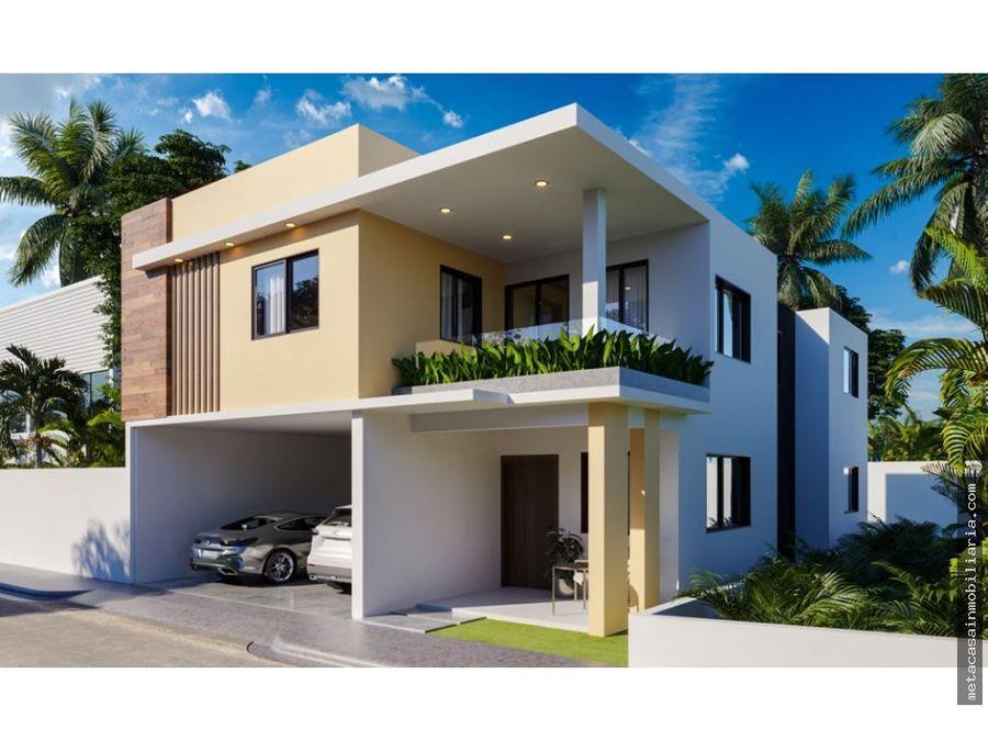 casas con piscina y fachada moderna proximo a la ave ecologica
