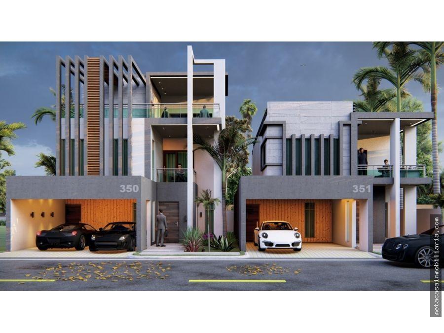proyecto de casas con 260mts2 en brisa oriental entrega en 6 meses