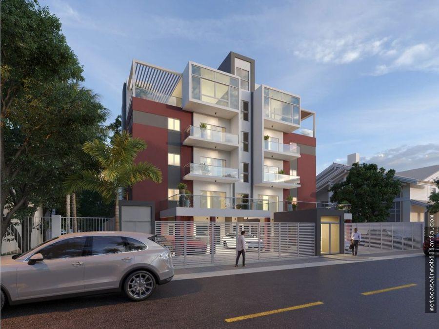 exclusivo residencial solo 8 aptos penthouse de 228mts prado oriental