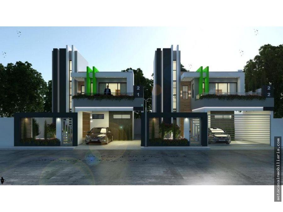 casas de 2 niveles 190mts de construccion entrega 8 meses san isidro