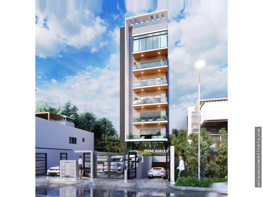 torre con ascensor aptos de 172mts2 ensanche ozama entrega 2022
