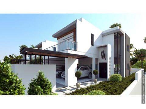 casas con 250mts moderna sala a doble altura a pasos de av ecologica