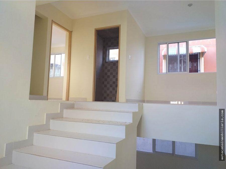 casa de 2 niveles 192mts de construccion prado oriental