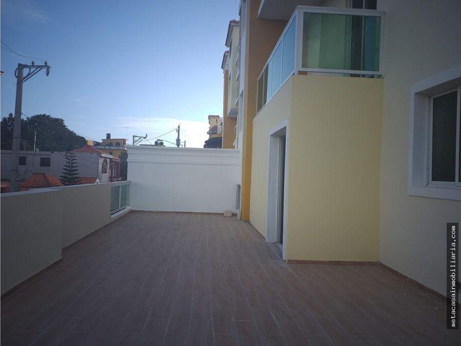 2da de 114mts 70mts terraza lista en san isidro