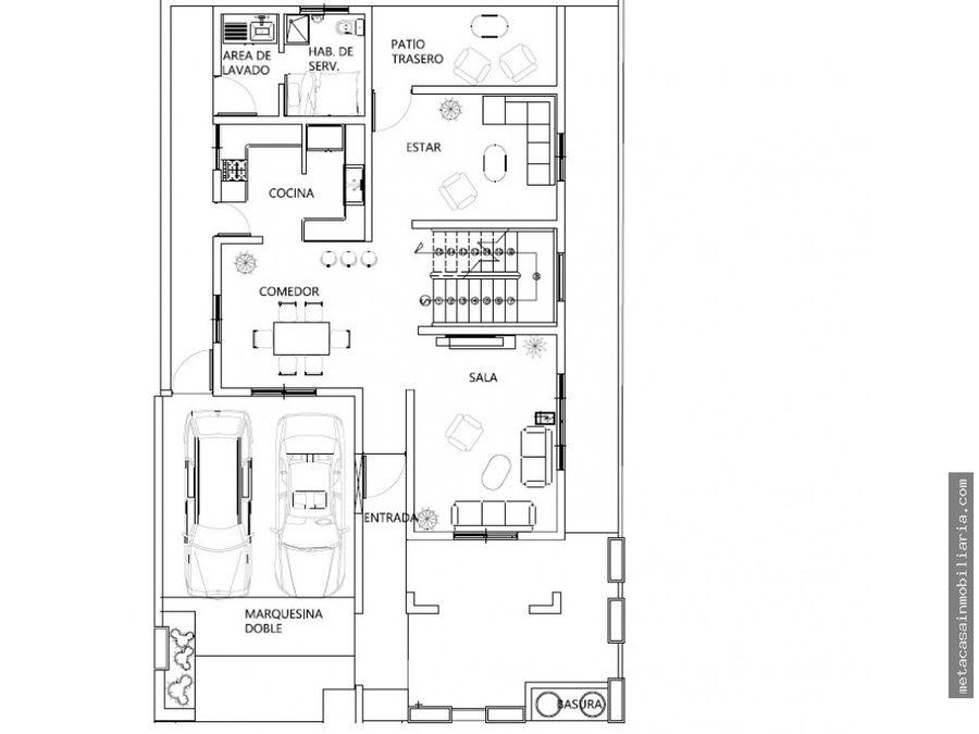 casas espectaculares de 330mts en 3 niveles