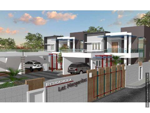 residencial las margaritas proyecto cerrado de 4 casas amalia