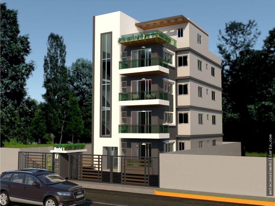 exclusivo edificio residencial solo 4 aptos de 107mts prado oriental
