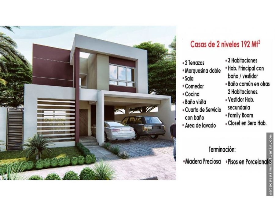 amplias casas individuales 192mts de construccion