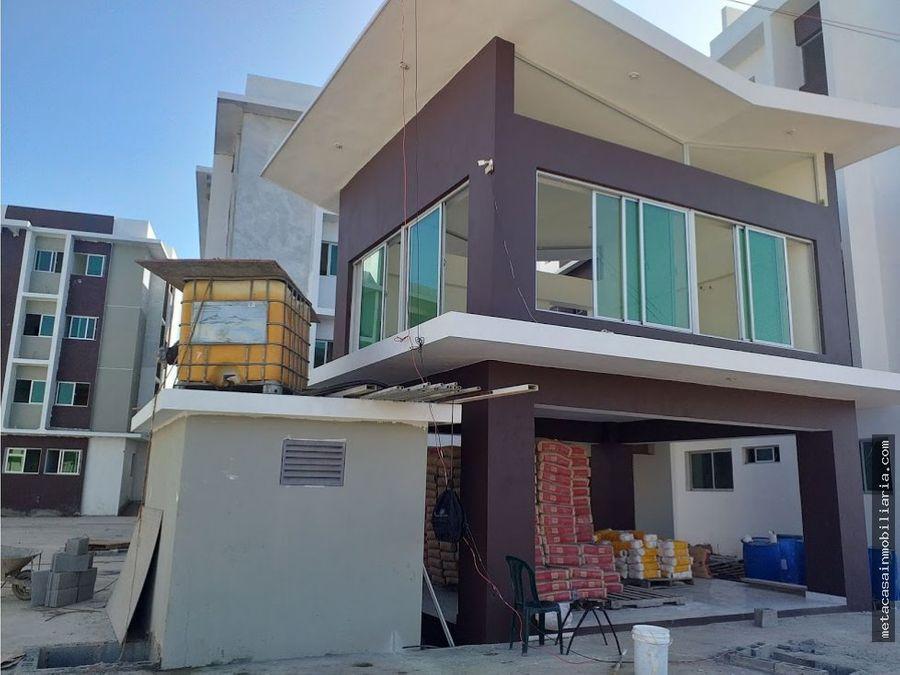 1er nivel con patio entre san isidro y ecologica listo