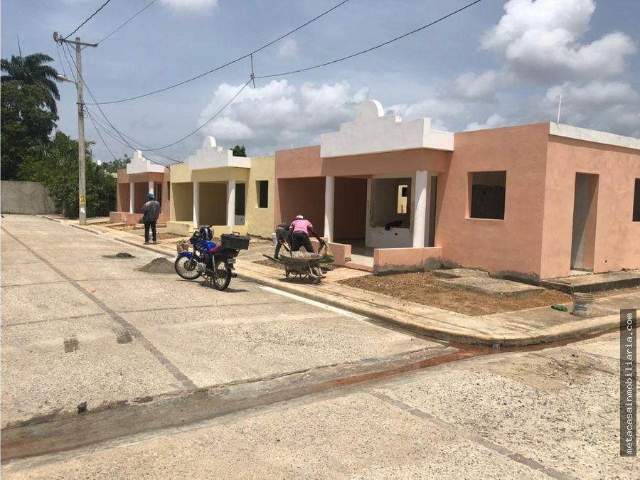 casas casi listas de 1 nivel en amalia rd3159