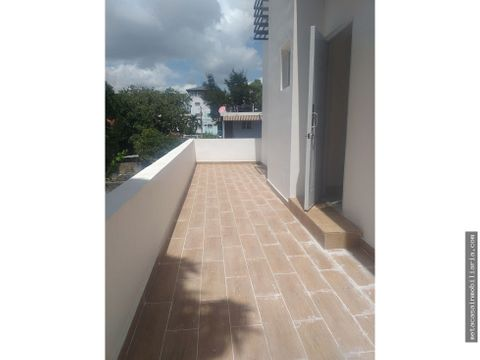 apto listo 2do nivel de 2hab terraza con planta full ensanche ozama