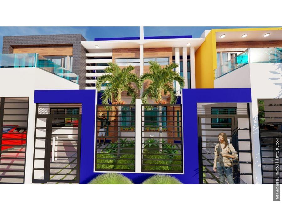 casas duplex de 2 niveles en brisa oriental san isidro