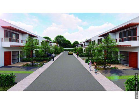 prado verde town houses casas en venta en turbaco