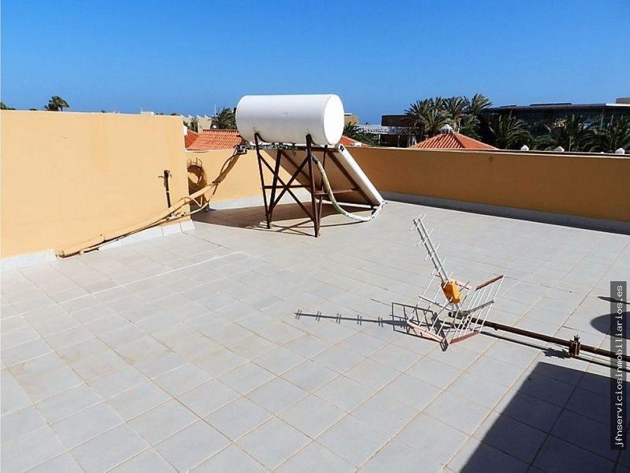 duplex en caleta de fuste con piscina privada