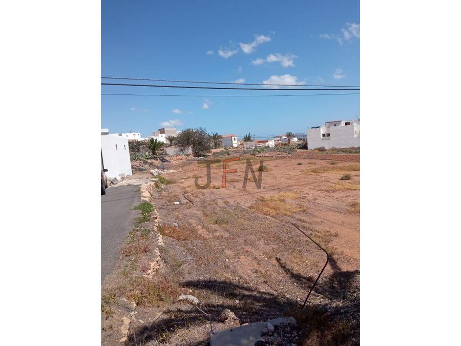 se vende parcela urbanizable en tuineje