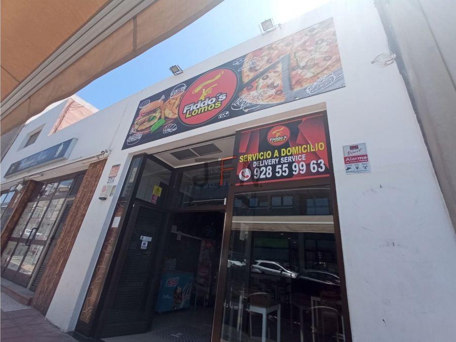 se traspasa pizzeria en puerto del rosario