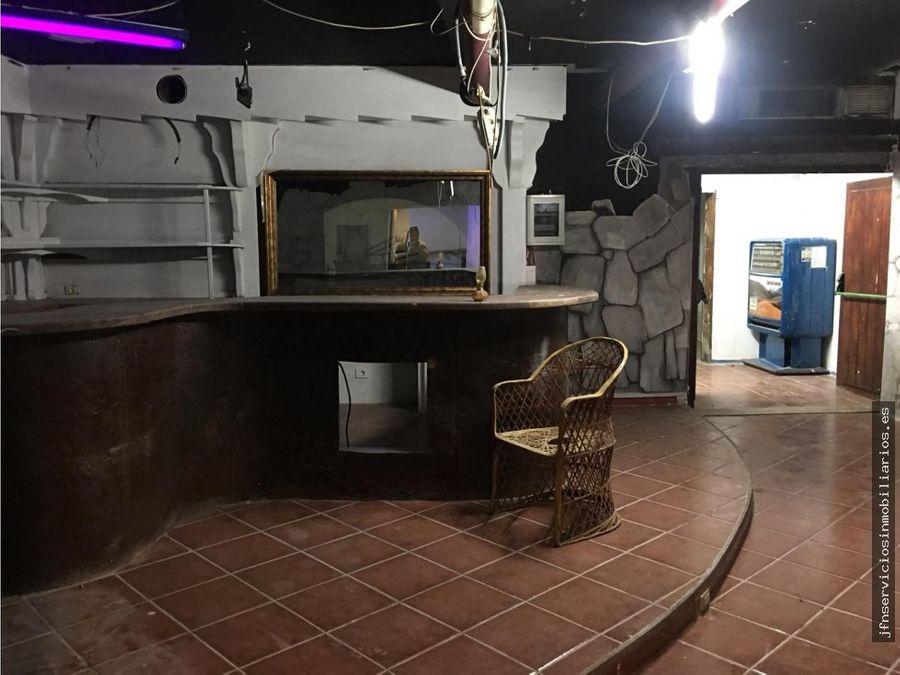 se traspasa local bar restaurante en corralejo