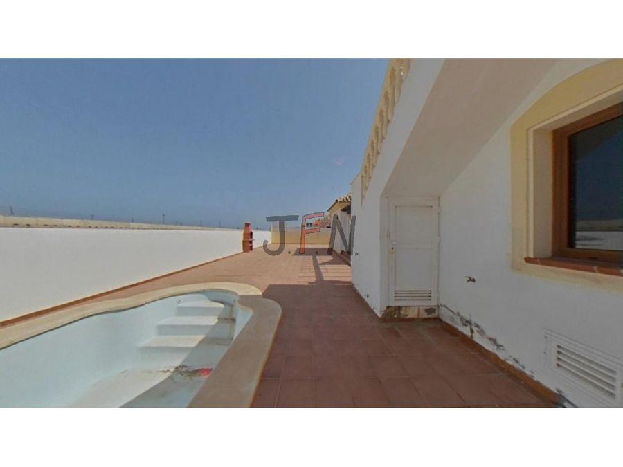 chalet urbanizacion vista del mar corralejo