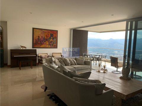 hermoso apartamento altos del poblado vista consolidada