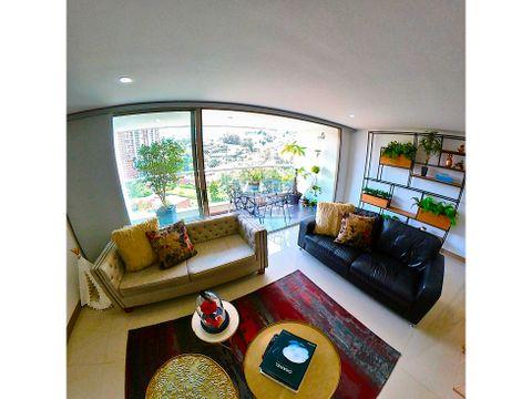 apartamento 112m2 loma del esmeraldal vista panoramica envigado