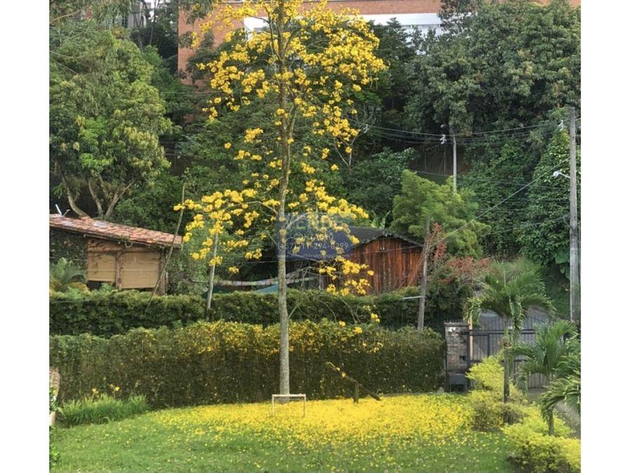 casa campestre independiente en envigado permutable