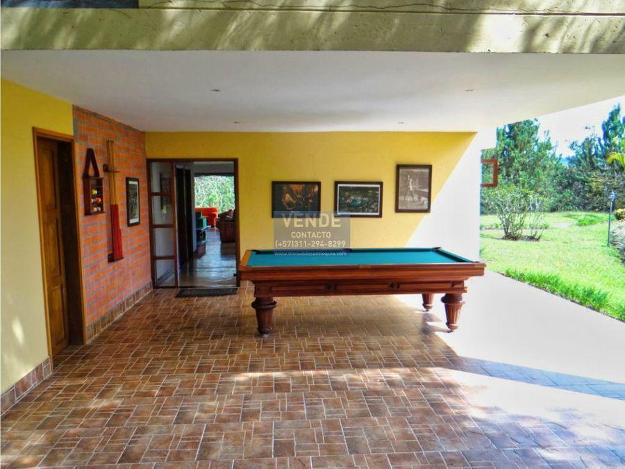 casa finca tradicional salida al embalse guatape