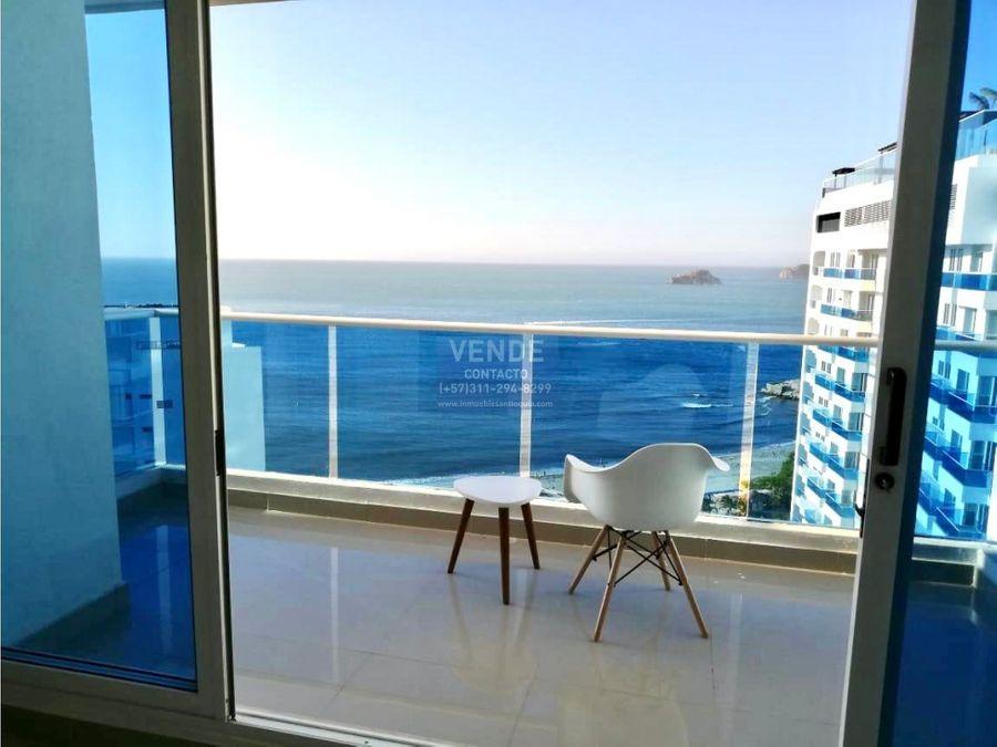 apartamento de 1 habitacion vista directa al mar segura inversion