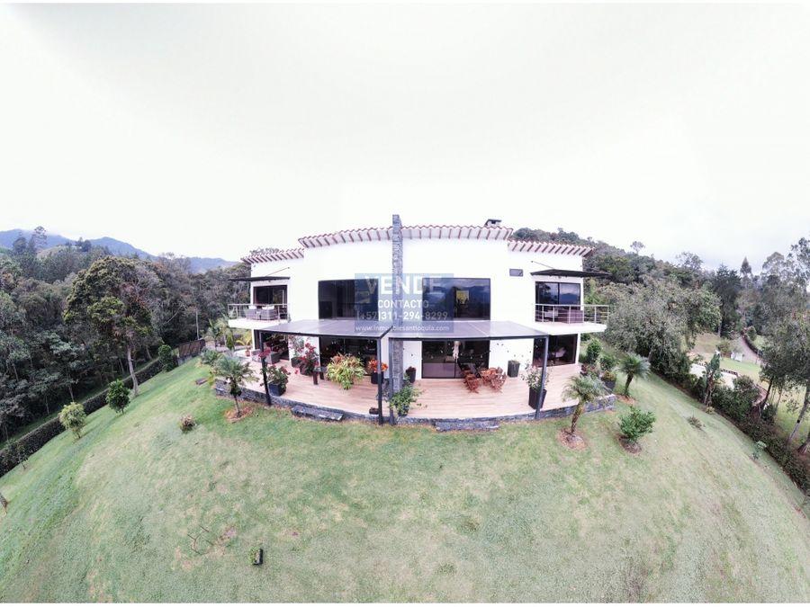 casa finca bifamiliar hermosa vista parcelacion de lujo