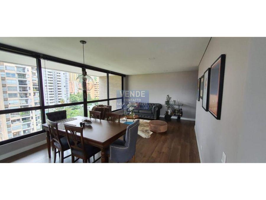 moderno apartamento con vista panoramica en el poblado