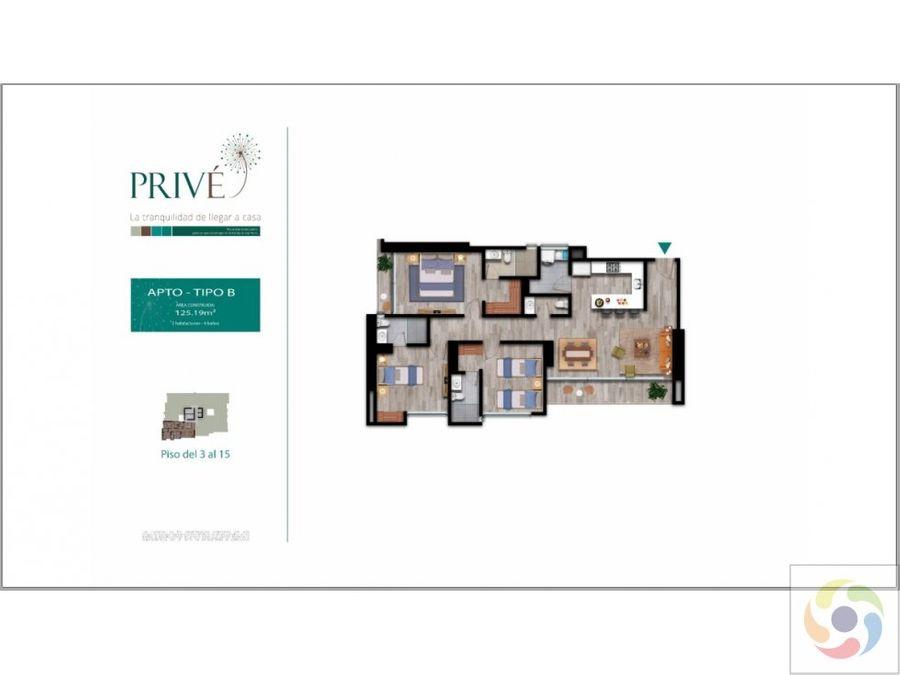 vendo apartamento 15072 m2 castellana armenia