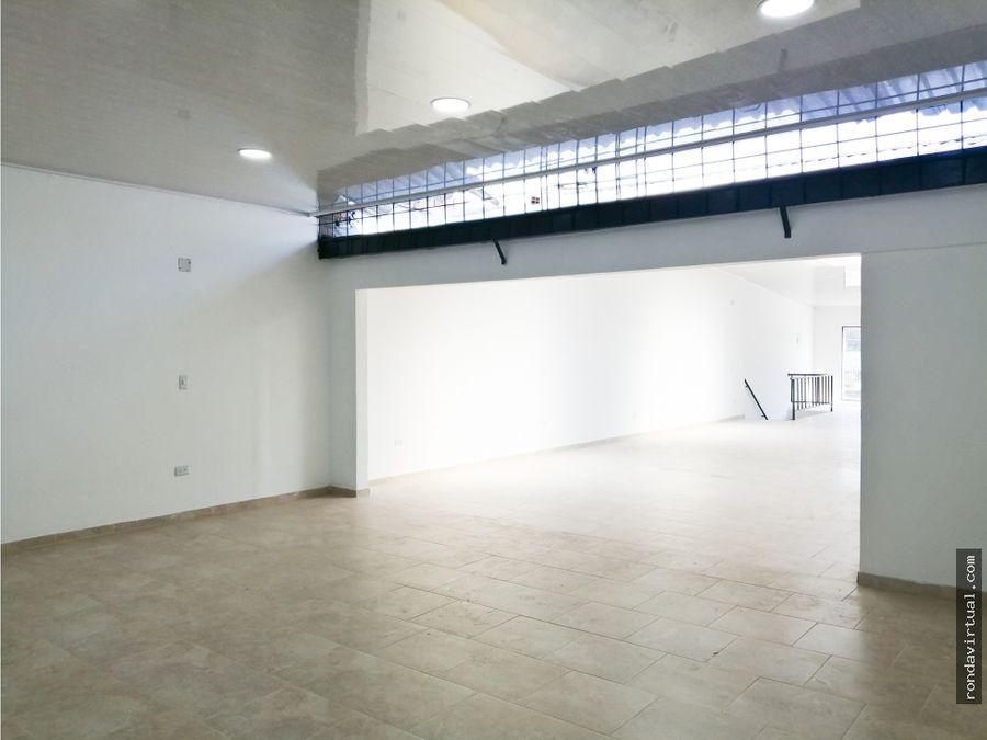 local comercial segundo piso sector carvajal