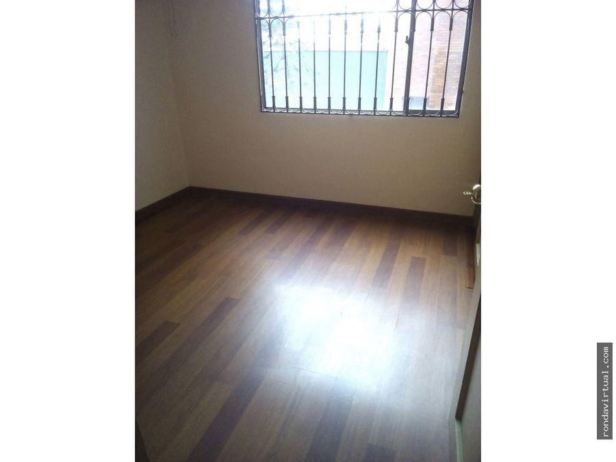 apartamento con garaje sector galan