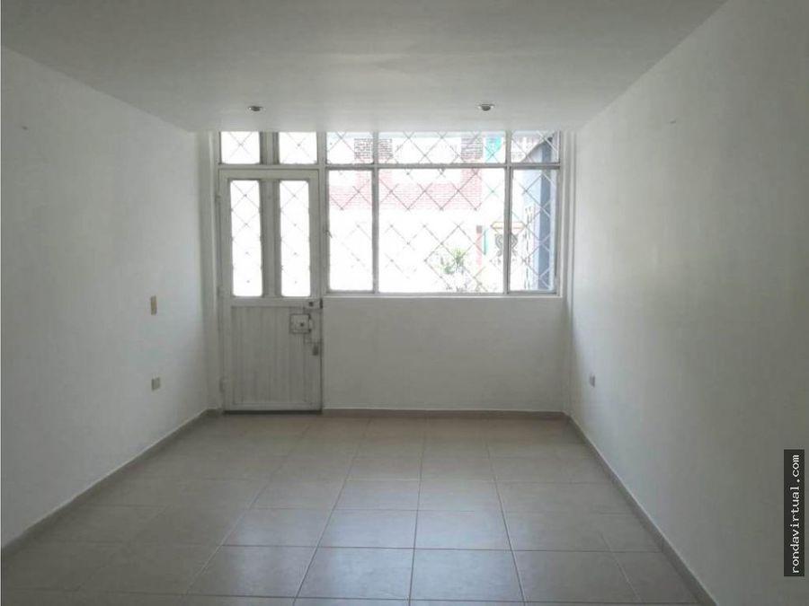 arriendo apartamento primer piso sector jazmin