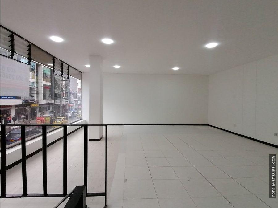 local comercial segundo piso en ricaurte bogota