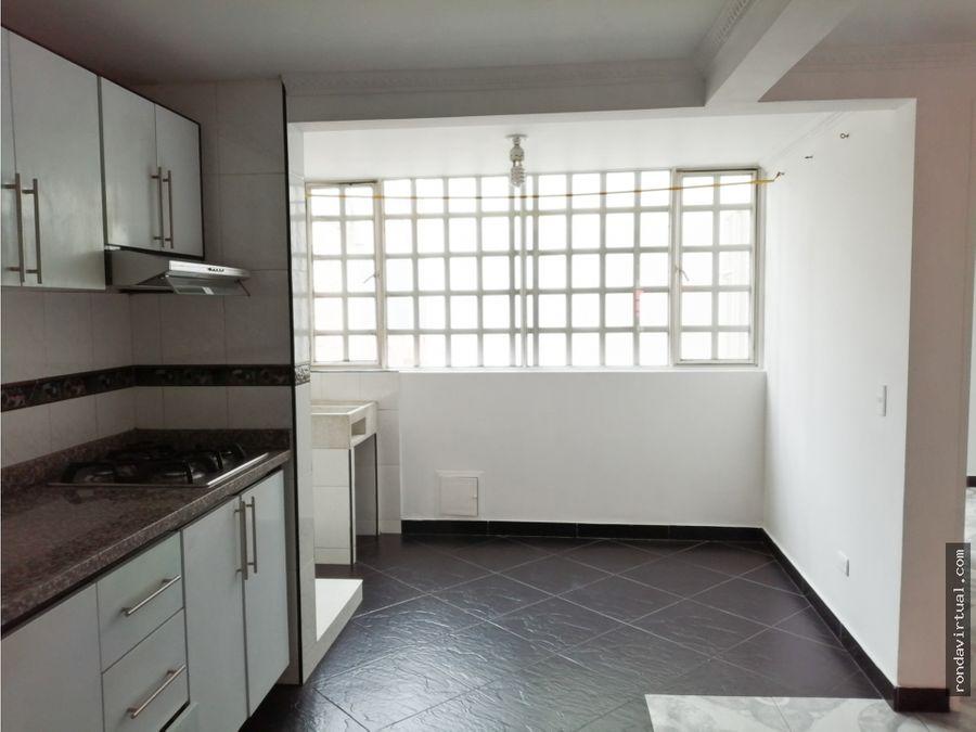 apartamento tercer piso en galan