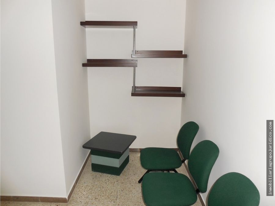 se arrienda oficina amoblada en el edificio bolsa de occidente