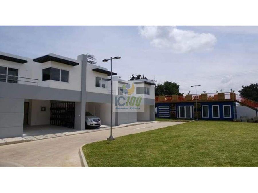 venta casa parajes vermont caes guatemala