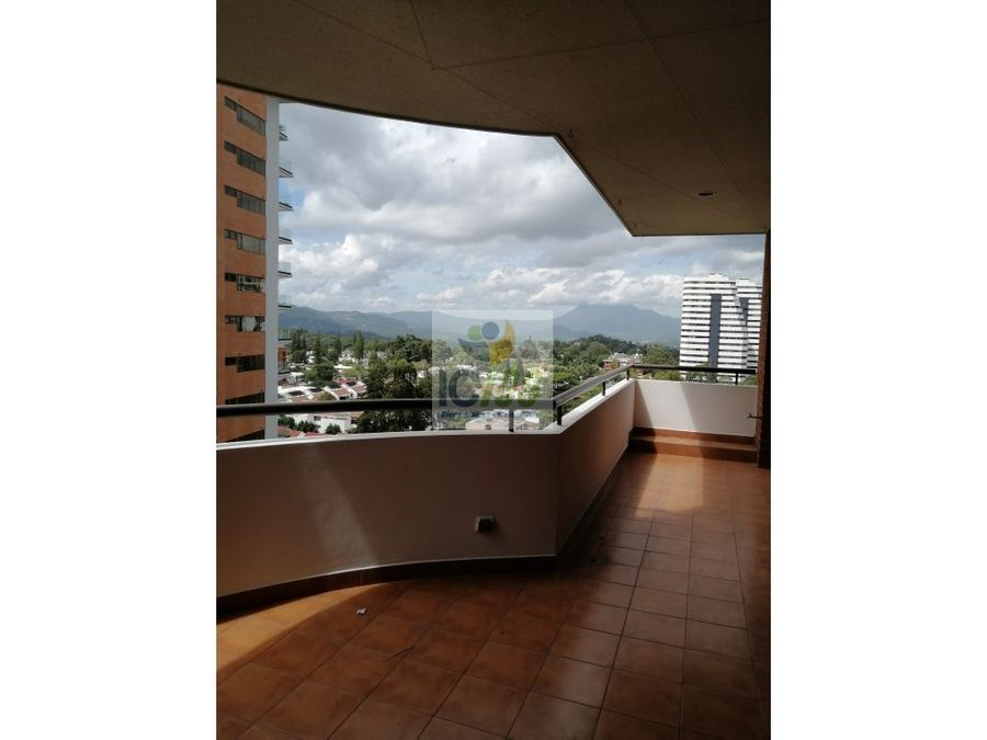 renta apartamento quinta bella zona 14 guatemala
