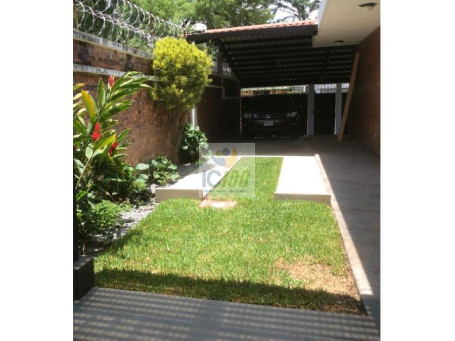 renta casa valles de vista hermosa zona 15 guatemala